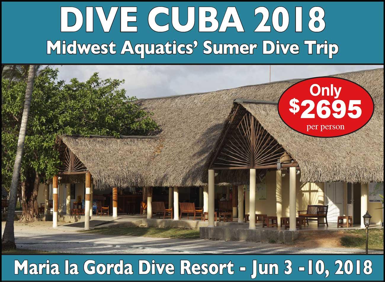 Midwest Aquatics 2018 Cuba Trip